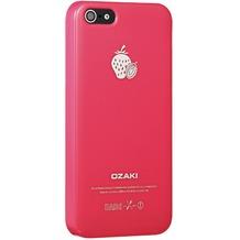 Ozaki O!Coat Fruit case für iPhone 5/5S/SE, erdbeerrot