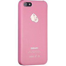 Ozaki O!Coat Fruit case für iPhone 5/5S/SE, pfirsichpink