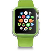 Ozaki O!Coat Shockband Bumper - Apple Watch, Watch Sport, Watch Edition (38mm) - grün