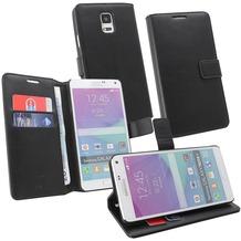 OZBO PU Tasche Diary Business - schwarz - für Samsung Galaxy Note 4