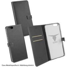 "OZBO PU Tasche ""Diary Leda"" - schwarz - für Samsung Galaxy S7 Edge"