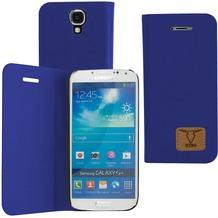 OZBO PU Tasche Diary Slim - blau - für Samsung Galaxy S4