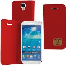 OZBO PU Tasche Diary Slim - rot - für Samsung Galaxy S4