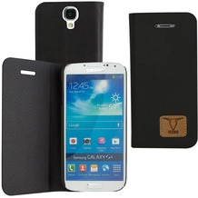 OZBO PU Tasche Diary Slim - schwarz - für Samsung Galaxy S4