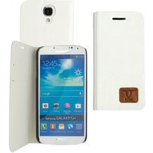 OZBO PU Tasche Diary Slim - weiß - für Samsung Galaxy S4