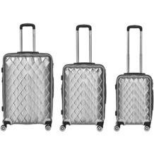 Packenger Atlantic Premium Kofferset 3tlg. Silber
