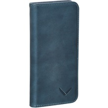Packenger Luxury Echtleder Samsung Galaxy S7 Edge Klapphülle - Blau