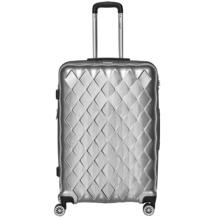 """Packenger Premium Koffer Atlantic 28"""" Silber"""