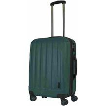 Packenger Premium Koffer Velvet L in Dunkelgrün