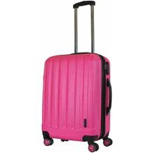 Packenger Premium Koffer Velvet L in Magenta