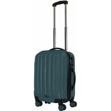 Packenger Premium Koffer Velvet M in Dunkelgrün