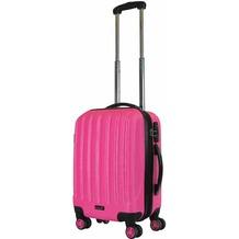 Packenger Premium Koffer Velvet M in Magenta
