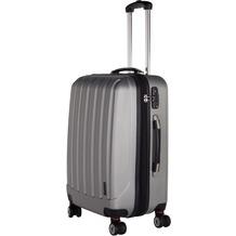 Packenger Premium Koffer Velvet XL in Silber