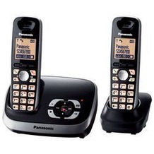 Panasonic KX-TG6522GB, schwarz Duo