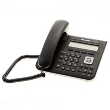 Panasonic KX-UT123NE-B SIP-VoIP Telefon, schwarz
