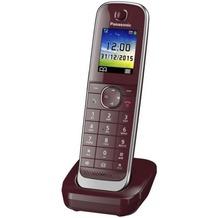 Panasonic Mobilteil KX-TGJ310/320/322/323 inkl. Ladeschale, dunkel-rot