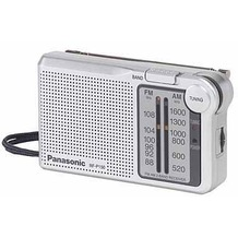 Panasonic Radio RF-P 150, silber