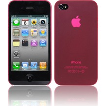 Twins Micro für iPhone 4, rot