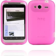 Twins Bright Matte für HTC Wildfire S, pink-transparent