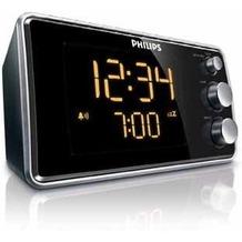Philips Radio AJ 3551/12, schwarz-silber