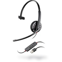 Plantronics Blackwire 310 USB Monaural, anthrazit