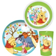 p:os Winnie The Pooh - Woodland, 3-tlg. Frühstücksset im Geschenkkarton