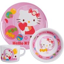p:os *Hello Kitty* 3tlg. Frühstückset im Geschenkkarton, Melamin