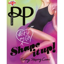 Pretty Polly Shape it up Shaper Cami Black ML