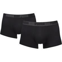 PUMA Basic Shortboxer (2er Pack) black / black S