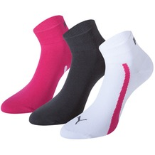 PUMA Lifestyle Quarters (3 Paar) beetroot 35/38