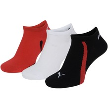 PUMA Lifestyle Sneakers (3 Paar) black / white / red 35/38