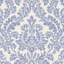 Rasch tapete for Tapete ornament blau
