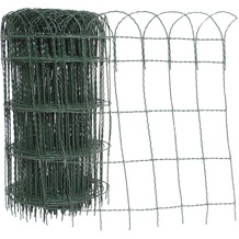 REWWER-TEC Ziergeflecht 40cm 10m PVC-ummantelt