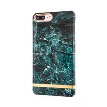 Richmond & Finch Marble Glossy for iPhone 7 Plus grün
