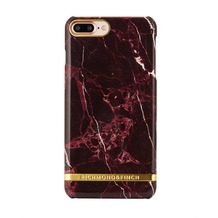 Richmond & Finch Marble Glossy for iPhone 7 Plus rot
