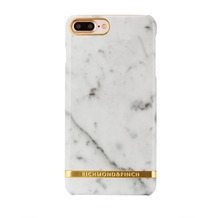 Richmond & Finch Marble Glossy for iPhone 7 Plus weiß