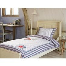Room Seven Bettwäsche Bailey R7 blau 155x220 cm