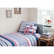 Room Seven Bettwäsche Newton R7 blau 80x80 cm