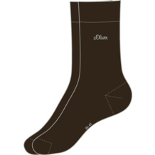 s.Oliver Classic Men 2 Paar 17 dark brown S20001 39/42
