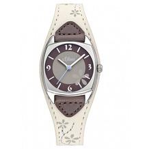 s.Oliver Damen-Armbanduhr SO-2135-LQ creme