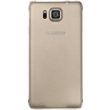 Samsung Akkudeckel EF-OG850 für Samsung Galaxy Alpha, Gold
