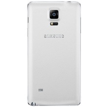 Samsung Akkudeckel EF-ON910 Look&Feel für Note 4, Frost Weiß
