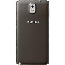 Samsung Akkudeckel ET-BN900S Look&Feel für Galaxy Note 3, grau-schwarz