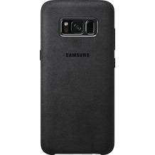 Samsung Alcantara Cover EF-XG950AS für Galaxy S8 dunkelgrau