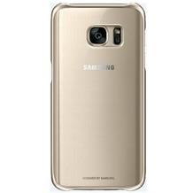 Samsung Clear Cover für Galaxy S7, gold