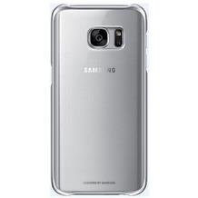 Samsung Clear Cover für Galaxy S7, silver