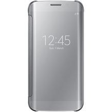 Samsung Clear View Cover - Galaxy S6 Edge - Silber