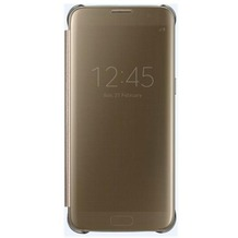 Samsung Clear View Cover - Galaxy S7 edge - gold