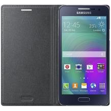 Samsung Flip Cover EF-FA300 für Galaxy A3, Charcoal