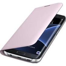 Samsung Flip Wallet Galaxy S7 edge / G935F baby pink